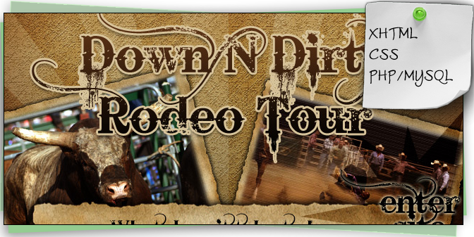 Down n Dirty Rodeo Tour