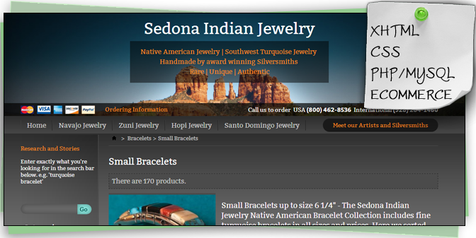 Sedona Indian Jewelry